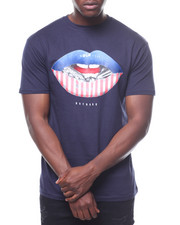 T-Shirts - Flag Lips Tee-2236029
