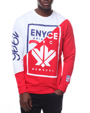 Enyce - French Terry Color Block Crewneck-2236302