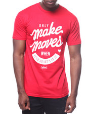 T-Shirts - Only Make Moves Heart Tee-2236079