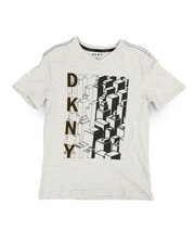 Boys - Enter Seam Block Logo Tee (8-20)-2235695