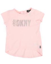 Tops - DKNY Hashtag Top (2T-4T)-2235255
