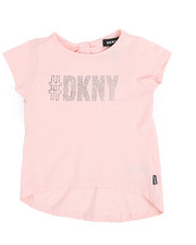 Girls - DKNY Hashtag Top (2T-4T)-2235255