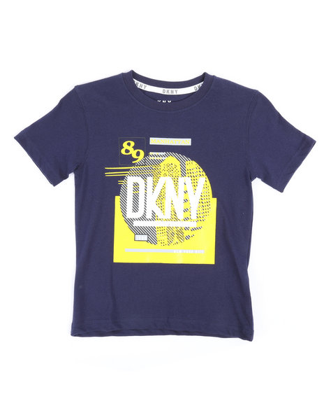 DKNY Jeans - City In A Circle Tee (4-7)