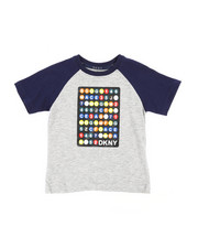 Boys - Color Block Raglan Subway Train Tee (2T-4T)-2235765