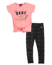 Sets - DKNY Girl Power 2 Piece Set (4-6X)-2235571