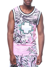 Pink Dolphin - PARADISE JERSEY TANK-2236322
