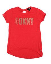 Tops - DKNY Hashtag Top (7-16)-2235635
