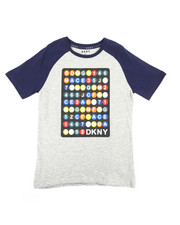 Boys - Color Block Raglan Subway Train Tee (8-20)-2235760