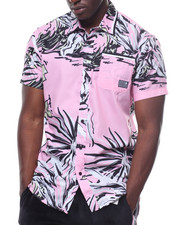 Pink Dolphin - PARADISE BUTTON UP-2236343