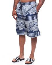 Shorts - Floral Bathing Suit (B&T)-2236640