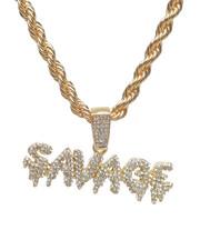 Accessories - Savage Bubble Chain Necklace-2235949