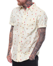 Buyers Picks - French Fries SS Buttondown Shirt-2236792