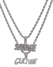 Jewelry & Watches - 2 Piece Savage/Culture Necklace-2236001
