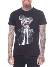 T-Shirts - Mad Mouse Skeleton tee-2235988