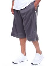 Shorts - Solid Mesh Short (B&T)-2236600