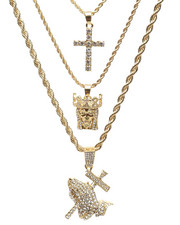 Jewelry & Watches - 3 Piece Necklace Set-2235983