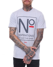 OUTRANK - No Aspirations to Quit Tee-2236560