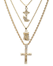 Jewelry & Watches - 3 Piece Necklace Set-2235977