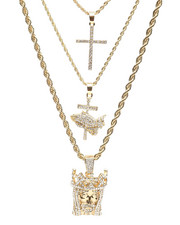 Jewelry & Watches - 3 Piece Necklace Set-2236009