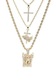 Accessories - 3 Piece Necklace Set-2236009
