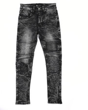 Jeans - Acid Wash Twill Jeans (8-20)-2236956