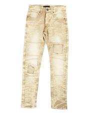 Jeans - Acid Wash Twill Jeans (8-20)-2236885