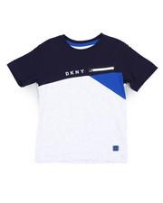 Boys - DKNY Color Block Tee (4-7)-2235811