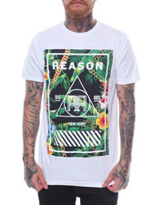Reason - BOTANICAL BOXPRINT TEE-2237071