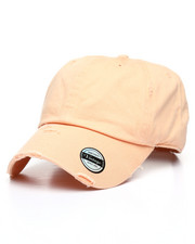 Dad Hats - Distressed Vintage Wash Dad Hat-2236479