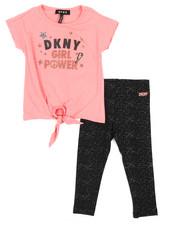 Girls - DKNY Girl Power 2 Piece Set (2T-4T)-2235797