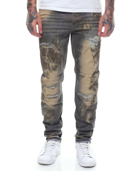 989c35f4b143 Buy AAron Enzyme wash stretch distressed jean Men s Jeans   Pants ...