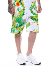 Shorts - BOTANICAL PRINT SHORTS-2237236