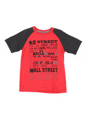 Boys - Color Block Raglan Tee (4-7)-2235918