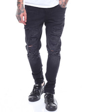 Jordan Craig - Sean Skinny Fit Ripped Stretch Jean-2237284