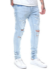 Spring-Summer-M - Sean Skinny Fit Ripped Stretch Jean-2237296