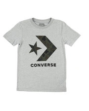 Converse - Heritage Camo Star Chevron Tee (8-20)-2237477