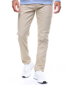 TWILL JOGGER WITH SNAP ANKLE CLOSURE