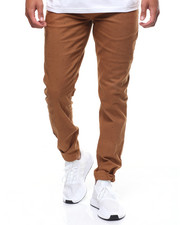 Pants - PATTERN TWILL JOGGER W SNAP ANKLE CLOSURE-2237939