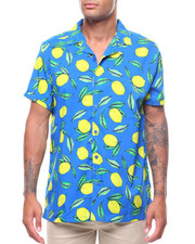 Mens-Swim - LEMON S/S BUTTONDOWN-2237821
