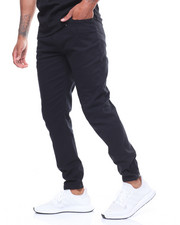 Pants - TWILL JOGGER W SNAP ANKLE CLOSURE-2237785