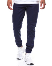 Pants - TWILL JOGGER W SNAP ANKLE CLOSURE-2237924