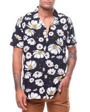 Spring-Summer-M - FLORAL S/S BUTTONDOWN-2237806