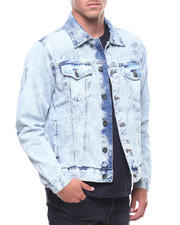 Outerwear - DENIM JACKET WITH RIPS-2238331