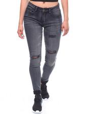 Jeans - Destructed HI Waist Skinny Jean-2238577