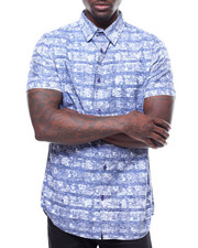 Buyers Picks - Paisley Stripe  SS Buttondown-2238666