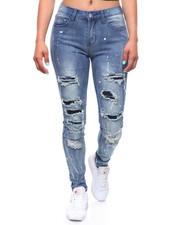 Jeans - Destructed Paint Splatter Jean-2238381