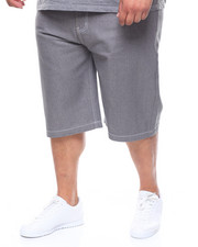 Shorts - 5 Pocket Raw Denim Short (B&T)-2238084
