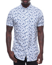 Buyers Picks - Abstract Print SS Buttondown-2238245