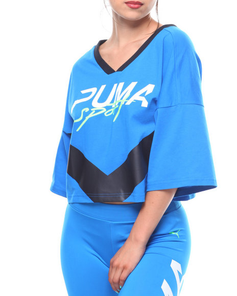 402671ee5ac Buy Xtreme Cropped V-Neck Women's Tops from Puma. Find Puma fashion ...