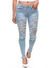 Jeans - Destructed 5 Pocket Skinny Jean-2238687